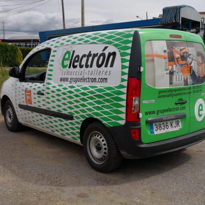 Sv diseno - Rotulacion furgoneta Grupo Electron2