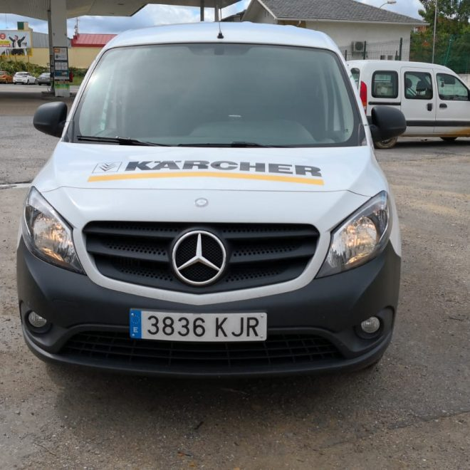 Sv diseno - Rotulacion furgoneta Grupo Electron3